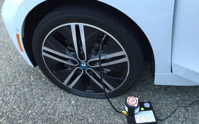 How to Inflate Tires with Air Compressor?