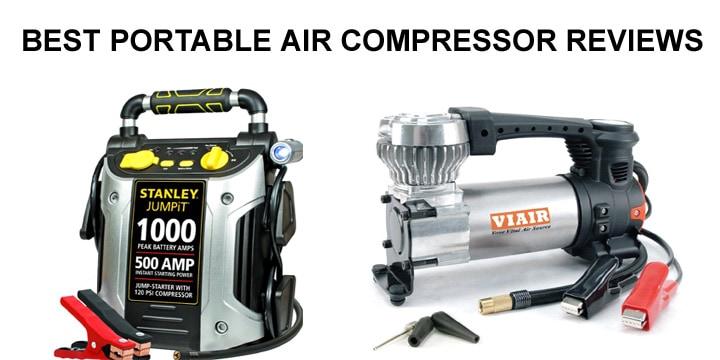 Best Portable Air Compressors for Car Tires - Top 7 Pick ...