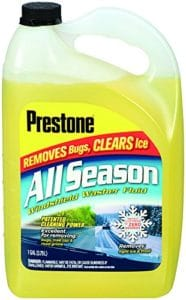 best windshield washer fluid for all season