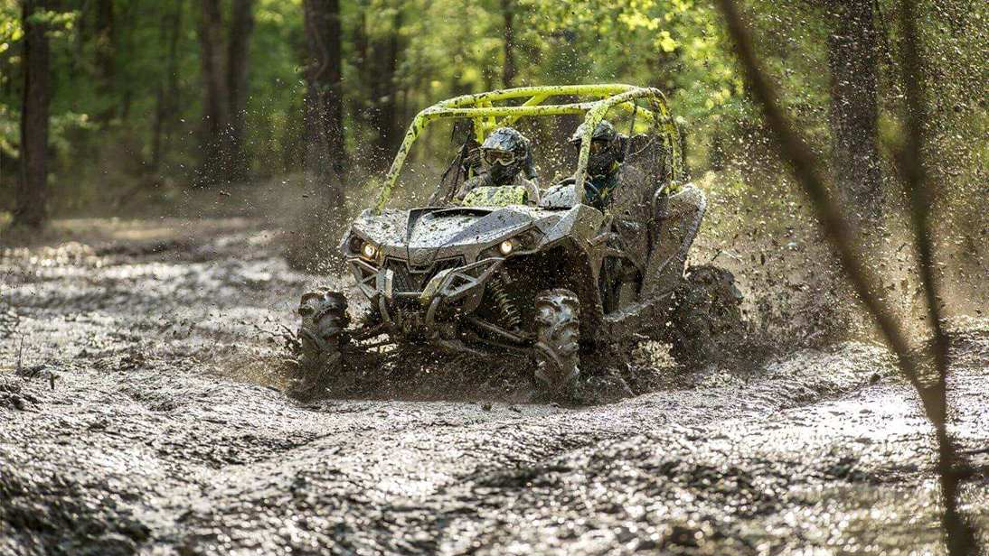 get ATV mud tires