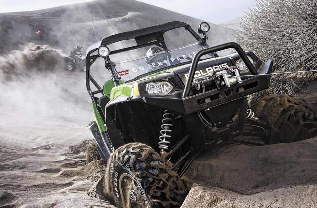 get an ATV winch