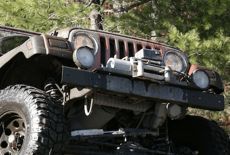 vehicle winch