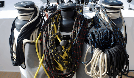 types of winch ropes