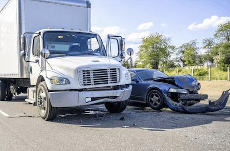 under truck accident